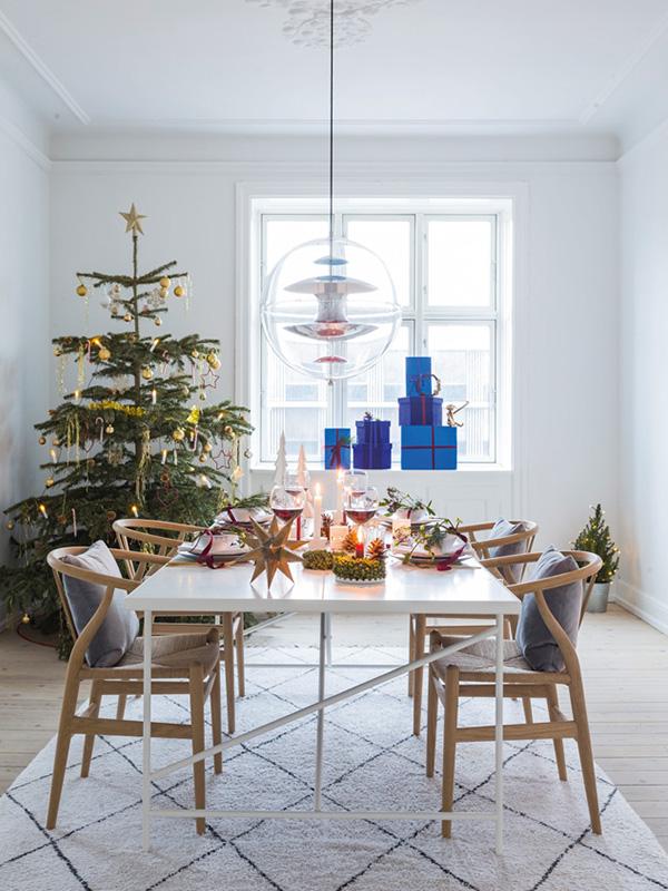 Marion Larsen - nordisk jul i rød og blå